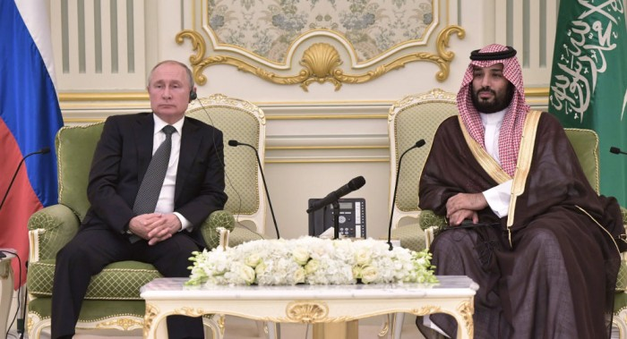 تعرف على تفاصيل هدية بوتين لولي العهد السعودي