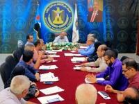 الأمانة العامة للانتقالي تناقش تقارير إنجاز الدوائر وخططها للأسبوع القادم