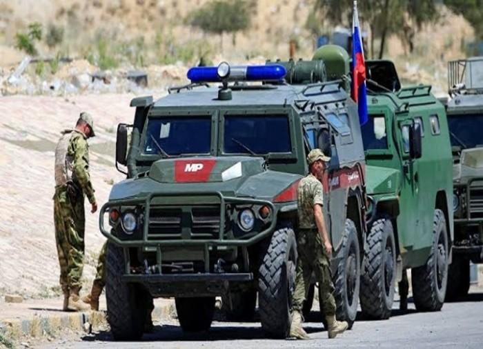 دوريات روسية على خط إلتماس بين قوات سورية وتركية