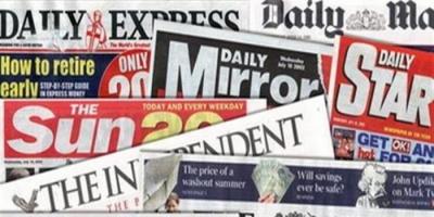 أبرز ما ورد بالصحف العالمية اليوم الثلاثاء