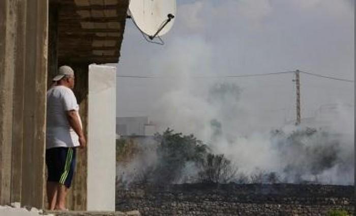 بيروت تنشر خراطيم المياة لإطفاء الحرائق وتطلب المساعدة من جيرانها