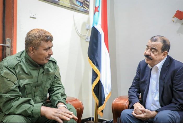 بن بريك يناقش الأوضاع الأمنية في محافظة لحج
