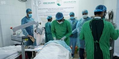 بدعم سعودي..إجراء 79 عملية جراحية لمرضى العيون في المكلا بحضرموت