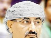 برقية عزاء من الزُبيدي في وفاة والدة خالد بحاح