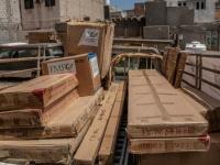 العيادة الطبية بمطار الريان تتسلم مساعدات جديدة