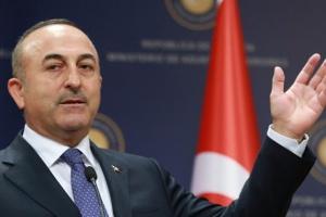 وزير الخارجية التركي يؤكد تعليق العمليات العسكرية في سوريا
