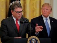 ترامب يعلن استقالة وزير الطاقة ريك بيري
