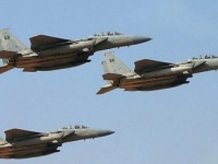 مقاتلات التحالف تدك مواقع الحوثي قي رازح