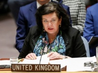 السفيرة البريطانية بالأمم المتحدة توضح ضرر انفجار ناقلة صافر