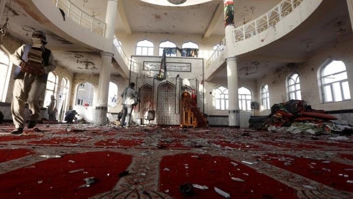62 قتيلا و 36 جريحا في انفجار مسجد شرقي أفغانستان