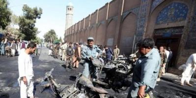 ارتفاع حصيلة ضحايا انفجار مسجد شرقي أفغانستان إلى 64 قتيل و100 جريح