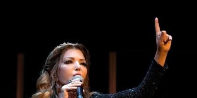 سميرة سعيد تشعل مسرح حفلها الأخير بسلطنة عُمان (صور وفيديو)