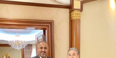 تفاصيل لقاء الرئيس الزُبيدي مع السفير الصيني لدى اليمن