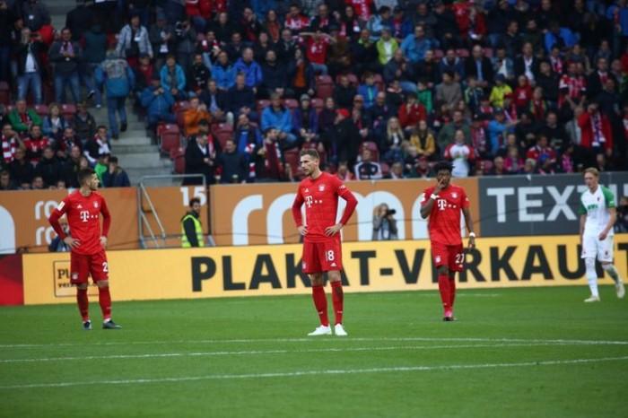 بايرن يسقط في فخ التعادل أمام أوجسبورج في البوندسليجا