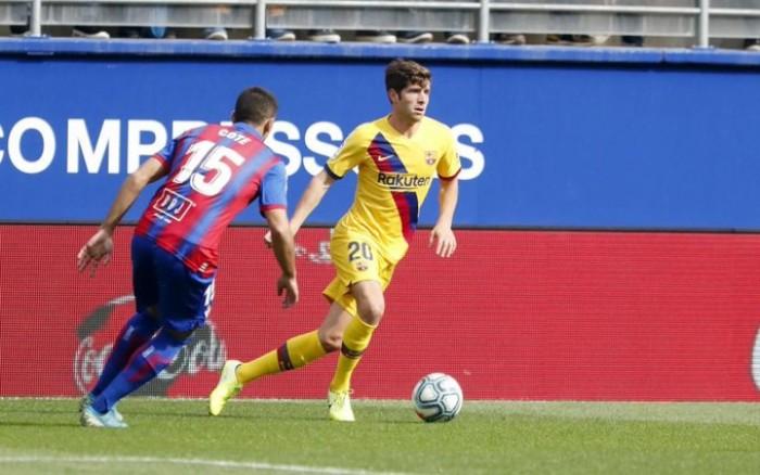 برشلونة يكشف طبيعة إصابة روبرتو