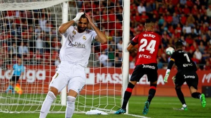 مايوركا يفوز على ريال مدريد بهدف نظيف