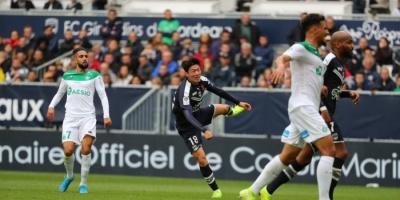 سانت إتيان ينتزع فوزا صعبا من بوردو في الدوري الفرنسي