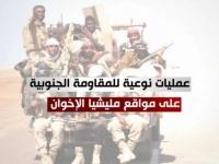 المقاومة الجنوبية بشبوة تنفذ عمليات نوعية ضد مليشيا الإخوان (فيديوجراف)