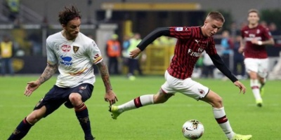 ميلان يفرط في الفوز على ليتشي بالدوري الإيطالي