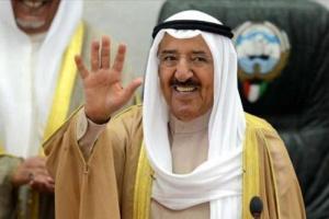 أول ظهور إعلامي لأمير الكويت عقب عودته من رحلة علاج بأمريكا (فيديو)