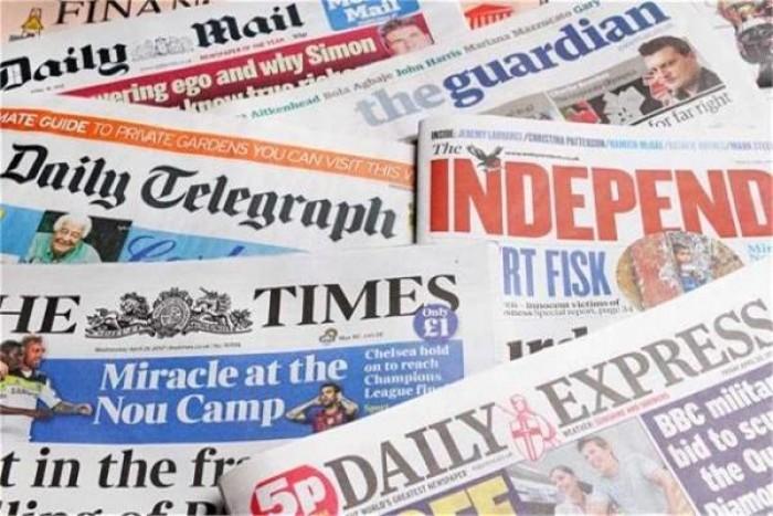 أبرز ما ورد بالصحف العالمية اليوم الاثنين