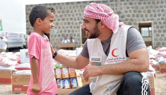 مسهور يُشيد بجهود الهلال الأحمر الإماراتي خلال الأربع سنوات الماضية