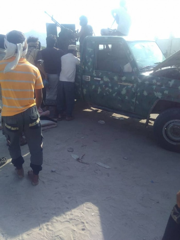 عاجل.. الحزام الأمني يسيطر على طقمين لمليشيات الإخوان في مودية بأبين