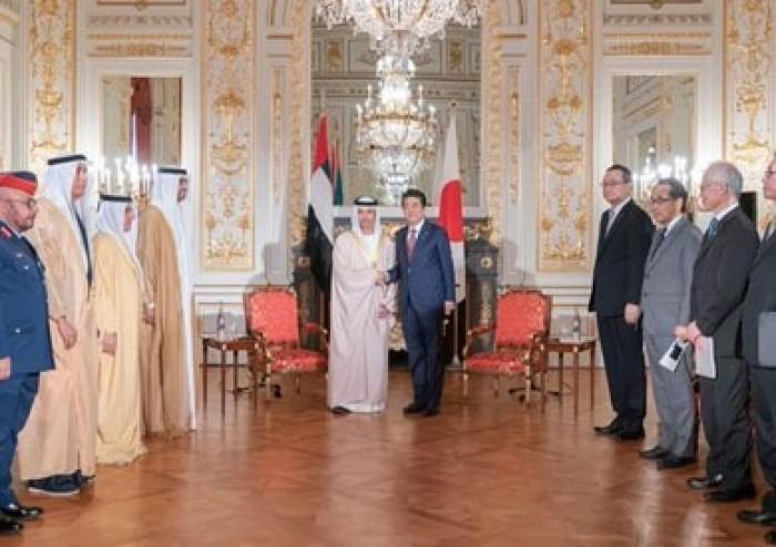 الإمارات واليابان يبحثان سبل تعزيز وتنمية علاقات الصداقة والتعاون المشترك