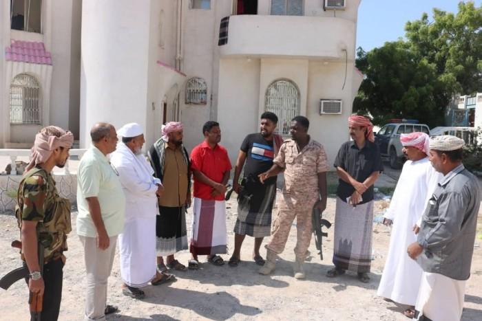 زيارة تفقدية من عضو الانتقالي لمقر المجلس بحضرموت