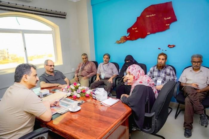 مناقشة تعزيز الدور الرقابي لمكتب الخدمة المدنية بالعاصمة عدن