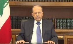 ماذا قال الرئيس اللبناني للمتظاهرين في أول تعليق له؟