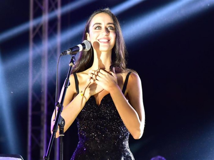 فايا يونان تروج لحفلها بمهرجان الموسيقى العربية