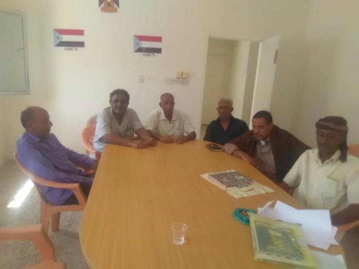 تفاصيل اجتماع إدارة الشهداء والجرحى بانتقالي دار سعد