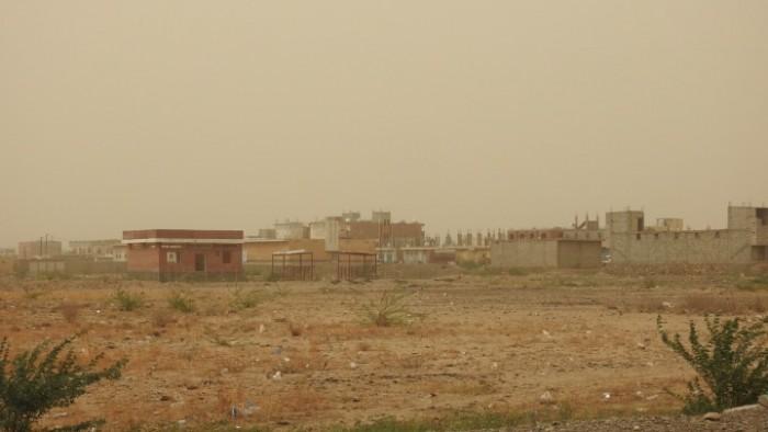 استهداف حوثي لمواقع القوات المشتركة في حيس