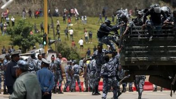 مصرع 67 شخصًا في مظاهرات مناهضة للحكومة بإثيوبيا