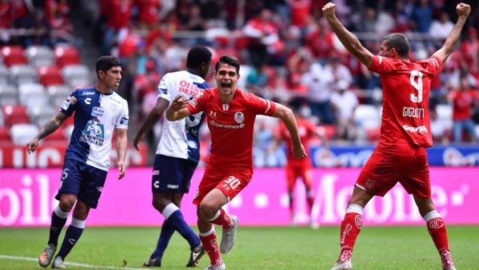 تولوكا يفوز على باتشوكا بثنائية في الدوري المكسيكي