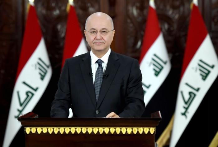 رئيس العراق يوافق على انتخابات مبكرة باعتماد القانون  الجديد ومفوضية جديدة