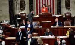 النواب الأمريكي يقر رسميا مشروع قانون إجراءات عزل ترامب