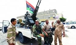 إصابة قيادي بمليشيا البقرة في غارة للجيش الوطني الليبي
