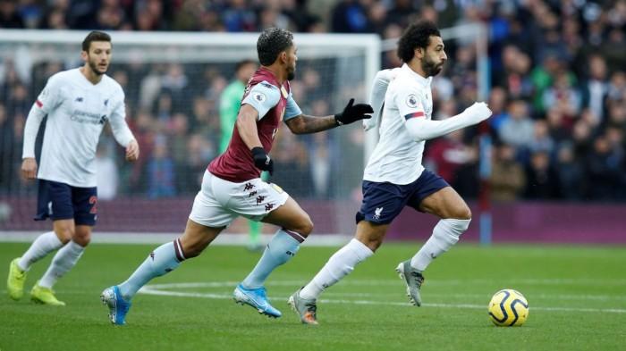 ليفربول يحقق فوزا صعبا على أستون فيلا في الدوري الإنجليزي