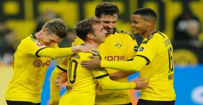 دورتموند يتقدم لوصافة الدوري الألماني بفوز سهل على فولفسبورج