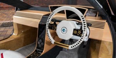 بإطلالة رياضية مميزة..اليابان تصنع سيارة من الخشب