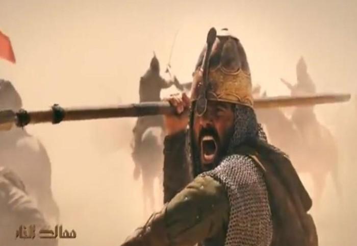 """خالد النبوي ينشر الإعلان الأول لمسلسله """"ممالك النار"""""""