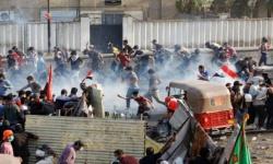 الأمن العراقي يقتل 5 محتجين بالرصاص في بغداد
