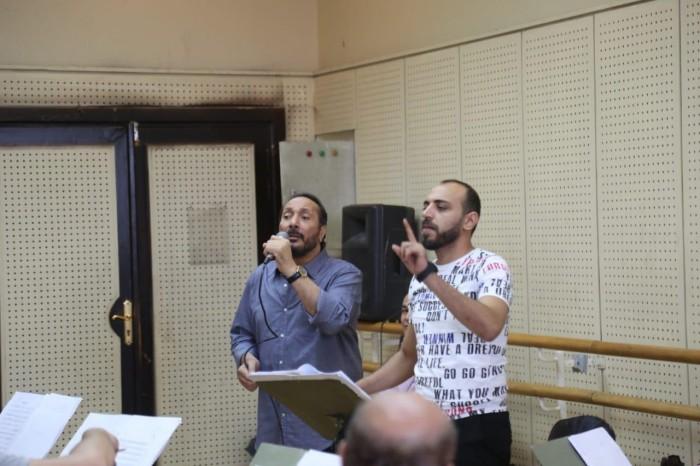 علي الحجار يستعد لحفله بمهرجان الموسيقى العربية (صور)