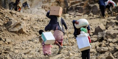 """نزوح ضخم في 9 أشهر.. هروب من """"الموت الحوثي"""""""