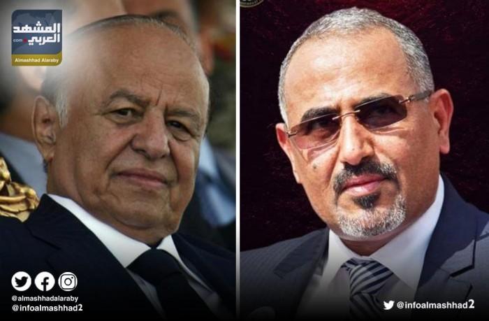 """تفاصيل لقاء  رئيس """" الانتقالي """"مع هادي في الرياض"""