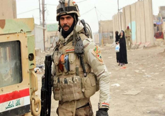 القوات المسلحة العراقية تعثر على عبوة ناسفة في وسط بغداد