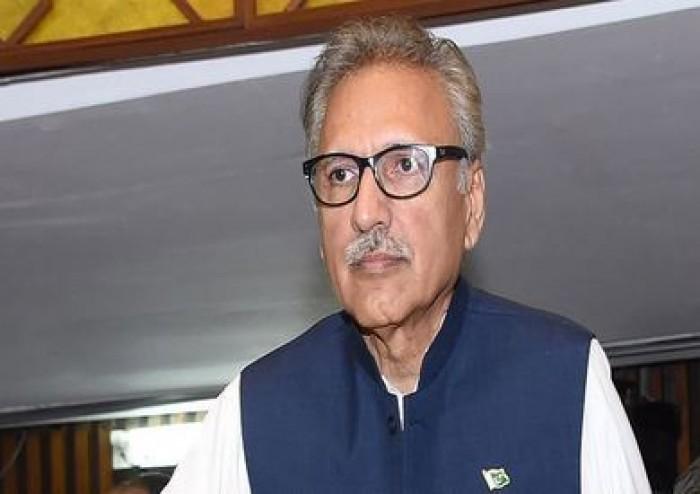 الرئيس الباكستاني: أدعو المجتمع الدولي إلى لعب دور لتخفيف معاناة الكشميريين