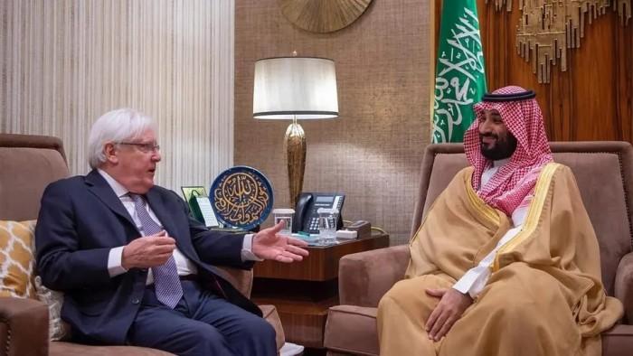 غريفيث عن لقاء ولي العهد السعودي: نعمل معا لإنهاء أزمات اليمن